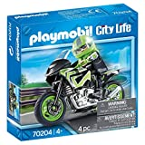 Playmobil City Life 70204 - Moticiclista, dai 4 anni