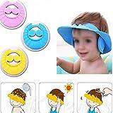 #7: Amazing Baby Kids Shampoo Bad Douche Cap Oor Beschermen Verstelbare Kinderen Shampoo Cap Catton Leuke Gratis Verzending