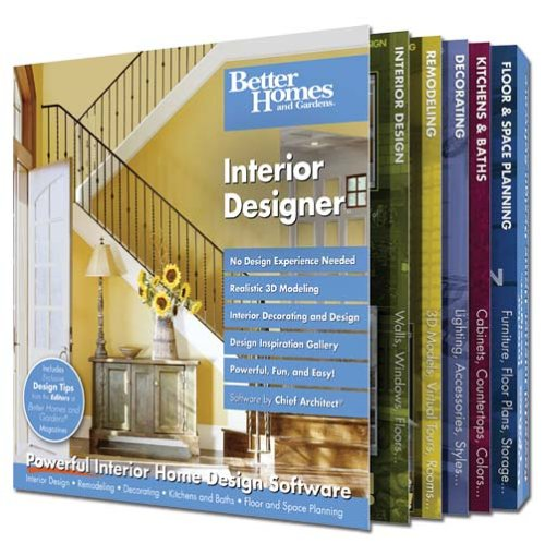 Better Homes and Gardens Interior Designer - And Better Homes Gardens-software
