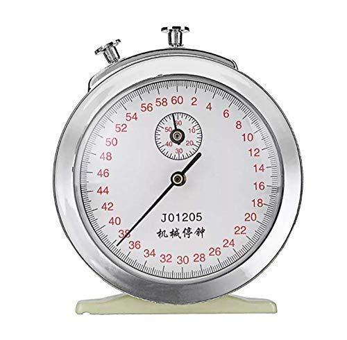 SUCAN Mecánico Windup Stopwatch Reloj 60s 0.2s 60min
