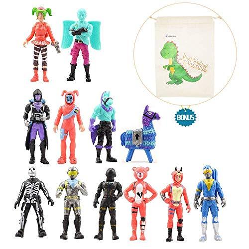 Vercico 12 Piezas 5 Pulgadas Figuras de acción Juguetes Figuras decor