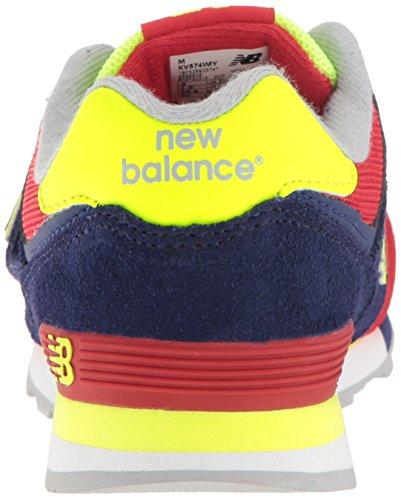 New Balance Kv574czy M Hook and Loop, Scarpe da Ginnastica Basse Unisex – Bambini Multicolore