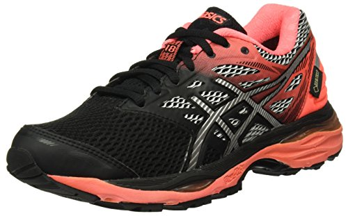 Asics Gel-cumulus 18 G-tx, Women's Competition Running Shoes, Multicolour (Black / Silver...