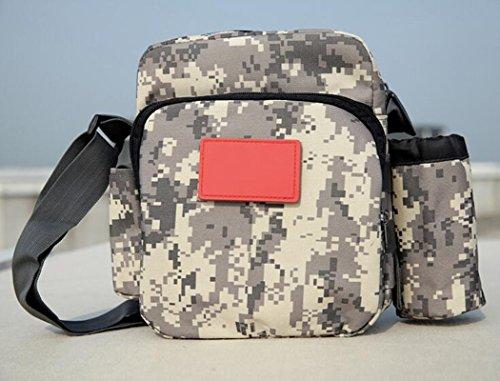 GOUQIN Outdoor Rucksack Klassische Mode Die Outdoor Urlaub Laufen Paket Taschen Wasserkocher Kleine Pakete Reisen Über Ein Paket Klettern Taschen Vielseitigkeit Reiten B