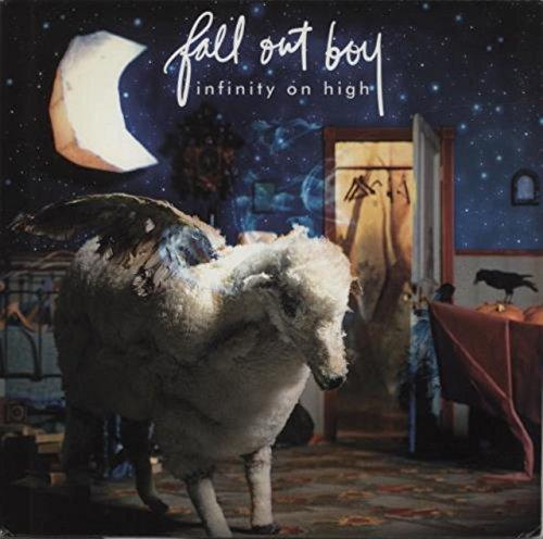 Infinity On High - Blue & Clear Splattered Vinyl (Fall Out Boy Album Vinyl)