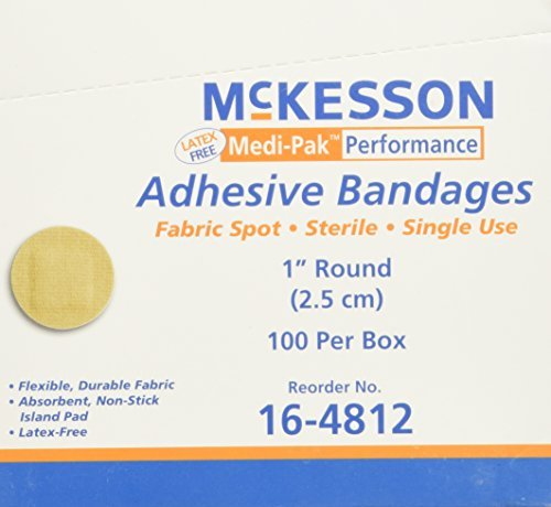 mckesson-medi-pak-performance-bandage-1round-100-count-by-mckesson