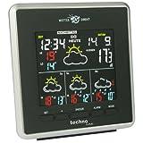 Technoline, WetterDirekt Wetterstation WD 4026 mit Innen- und Außentemperaturanzeige sowie Wettervorhersage für 4 Tage