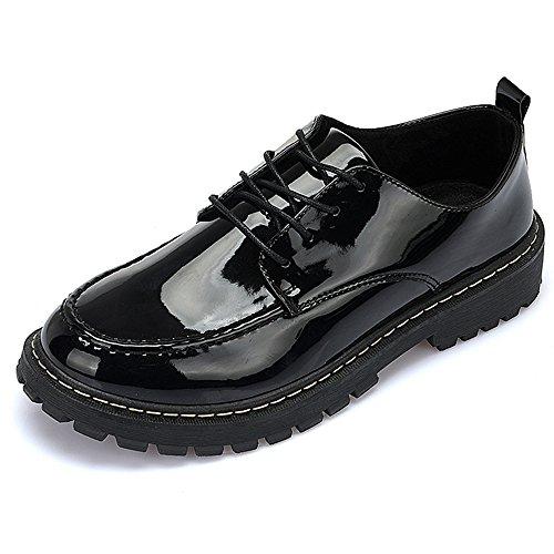 XIAOLIN- Hommes Chaussures 2018 Nouveau Style Vente Chaude Bureau & Carrière / Casual Patent Oxfords Noir / Rouge