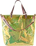 Urban Classics Handtasche Transparent Shopper, Holographic Orange, 54 cm