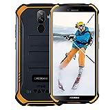 DOOGEE S40 (3Go+32Go) Télephone Portable Incassable Débloqué 4G, 5,5 Pouce (Gorilla Glass 4), 4650mAh, Android 9 Smartphone, IP68/IP69K Résistant Etanche Antichoc Mobile, Dual SIM 4G, NFC,GPS-Orange