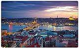 Istanbul Türkei Skyline Wandtattoo Wandsticker Wandaufkleber R1032 Größe 40 cm x 60 cm