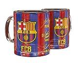 FC Barcelona Glastasse Unterschriften 17 18