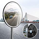 e5b9531226 Topwill Convexo Espejo Tráfico,Espejo de Seguridad Convexo Espejo de Vigilancia  Espejo de Acrílico para