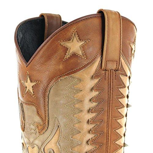 Sendra Boots 14144 Olimpia Beige/Damen Fashionstiefelette Braun Beige/Damenstiefel Olimpia Beige