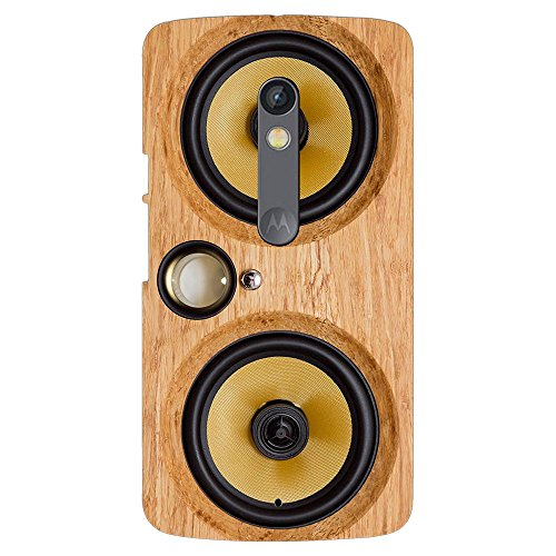 PrintVoo Speaker Boombox Printed Mobile Case for Moto X Play