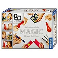 Kosmos-698225-Zauberschule-Magic-Silver-Edition Kosmos 698225- Zauberschule Magic – Silver Edition -