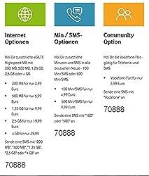 Vodafone Callya Talk und SMS + 10 Startguthaben
