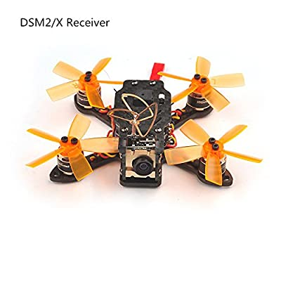 CS PRIORITY Toad 90 Micro Brushless FPV Racing Drone F3 DSHOT BNF Flight Controller with Frsky / Flysky / DSM2/X RX Receiver