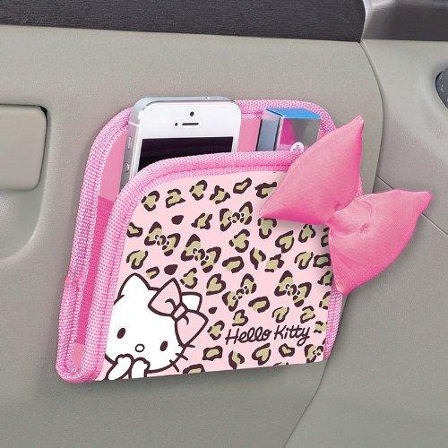 Bonjour Kitty poche en forme (panth?re rose) (japan import)