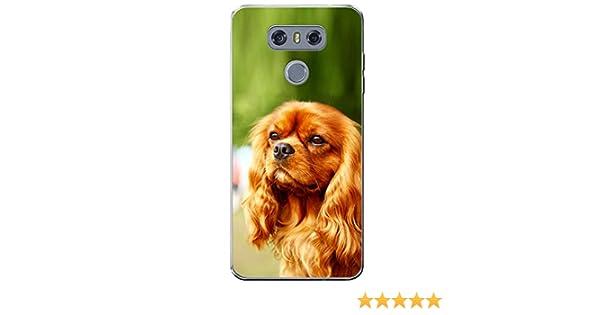 Fancy A Snuggle Cavalier King Charles Spaniel Dog t/él/éphone Housse//Coque rigide pour t/él/éphone portable LG H870 Beautiful Brown Cavalier Dog LG G6 plastique