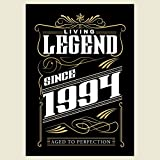 Vectorbomb 1994, Living Legend seit 1994, 23. Geburtstag Grußkarte