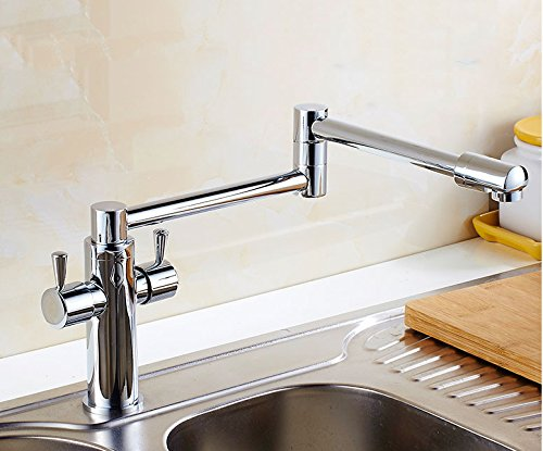 traditional-style-yellow-twin-lever-monobloc-kitchen-sink-mixer-tap-high-arc-swivel-spout-bathroom-s