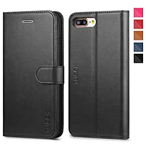 coque iphone 8 plus iphone 7 plus tucch etui iphone 7 plus portefeuille en cuir polyur thane. Black Bedroom Furniture Sets. Home Design Ideas