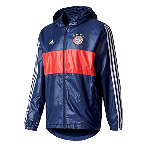 Adidas Herren FCB 3S wndbrk FC Bayern München Jacke S Blue/Maruni/Blanco Preisvergleich