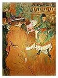 Henri Toulouse-Lautrec Poster Kunstdruck Bild Quadrille at