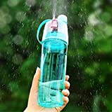 #9: VITARA Sport Drinking and Misting TRITAN Spray Water Botte , BPA FREE, 600 ml ( coloure may vary )