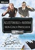 PC CD ROM // ACUITE VISUELLE et AUDITIVE // MON COATCH PARTICULIER // 10 JEUX CEREBRAUX