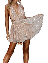 Elegante Donna con Paillettes Amazon Gonne it Abbigliamento Hqwan5z