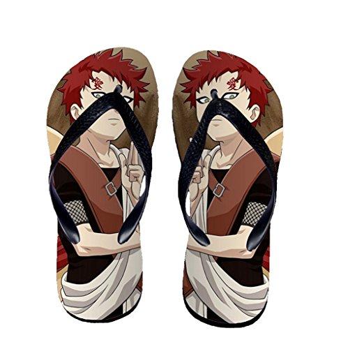 Bromeo Naruto Anime Aleta Unisex Fracassos Toe Trenner Chinelos 300