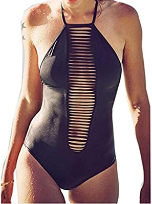 Bañadores Deportivas Mujer,Xinan Traje de Baño de Una Pieza de Monokini del Bikini Push Up