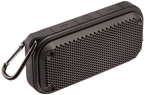 Price comparison product image AmazonBasics Shockproof and Waterproof Bluetooth Wireless Speaker