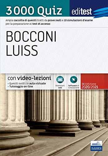Zoom IMG-2 editest bocconi luiss 3000 quiz