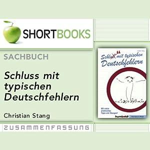 Schluss Mit Typischen Deutschfehlern Shortbooks Hörbuch Download