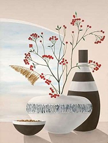 The Poster Corp David Sedalia - Rowan Berries II Kunstdruck (27,94 x 35,56  cm)