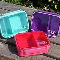 MZMZ generico accessori bellissimo Single Tier piccole scatole sigillate Sushi Box (colori casuali)