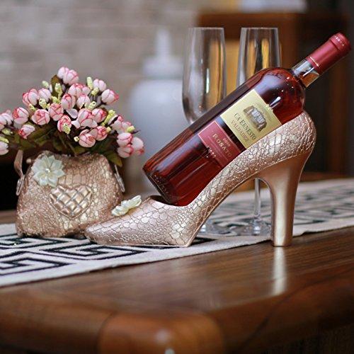 High End Wohnzimmer-möbel (Europäisches wohnzimmer dining tisch essen high heels rot wein rack high-end craft verzierungen-High Heels)