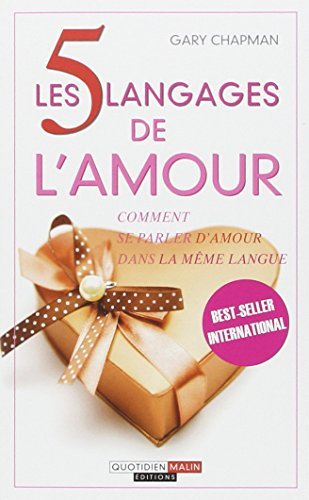 5 Langages De L'Amour By Chapman Gary