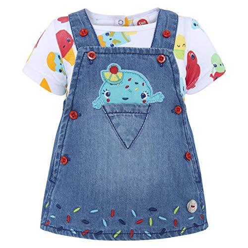 Tuc Tuc Pichi Vaquero+Camiseta Punto NIÑA Cute Ice