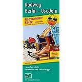 Radwanderkarte Leporello Radweg Berlin - Usedom: Mit Ausflugszielen, Einkehr- & Freizeittipps, wetterfest, reissfest, abwischbar, GPS-genau. 1:50000