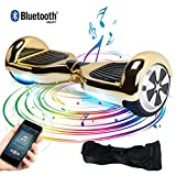 Windgoo Hoverboard Bluetooth 6,5 Pouces,Overboard 700W Gyropode Self Balance Scooter avec LED Smart...