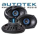 Autotek ATX-693 | 3-Wege Oval Koax Lautsprecher 6'x9' -