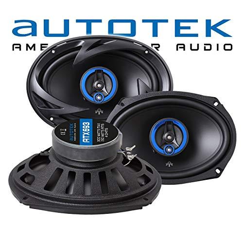 Autotek ATX-693 | 3-Wege Oval Koax Lautsprecher 6\'x9\'