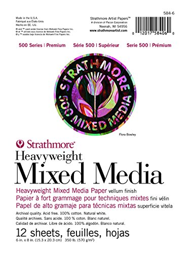Strathmore 500 Series Heavyweight Mixed Media Pad 6