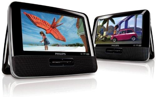 Philips-PD7042-2-Lecteurs-DVDDviXMp3-portables-avec-cran-7-kit-voiture-adaptateur-allume-cigare-et-2-paires-dcouteurs-inclus-Noir