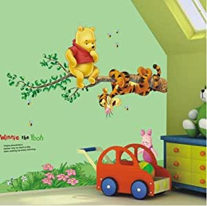 ... Jaamso Royals U0027Winnie The Pooh Home Decor Cartoon U0027 Wall Sticker  (Vinyl, 51 Cm X 5.1 Part 53