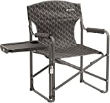 Outwell Chino Hills Folding Chair with Side Table Black 2018 Campingstuhl
